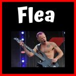 bajista de red hot chilli peppers Flea