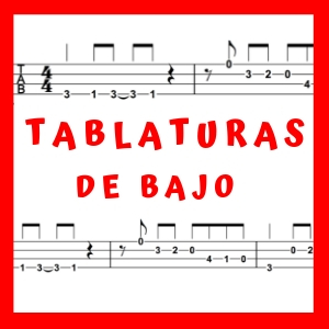 tablaturas de bajo