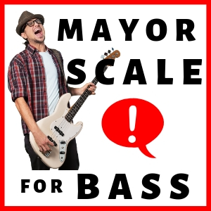 Major Scale for Bass Guitar