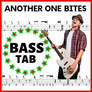 Another one Bites the Dust Bass Tab