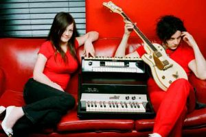 El grupo white stripes