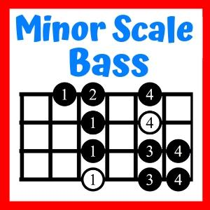 Minor Scale on Bass