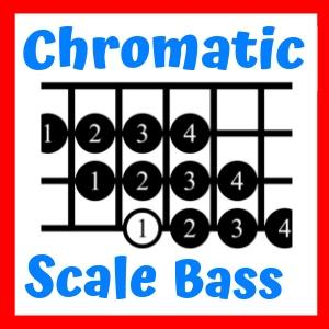 Chromatic Scale on Bass