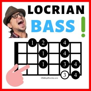 Locrian Scale Bass