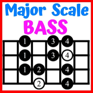 major scale bass