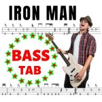 bass notes for iron man