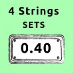 light gauge bass guitar strings