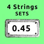 standard gauge bass strings