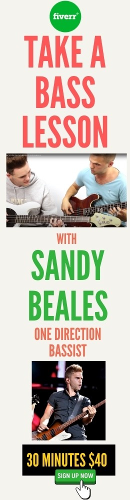 bass lessons with sandy beales